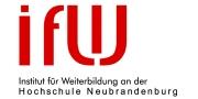 Institut für Weiterbildung (IfW) an der Hochschule Neubrandenburg e.V.