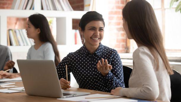 Frauen lernen gemeinsam